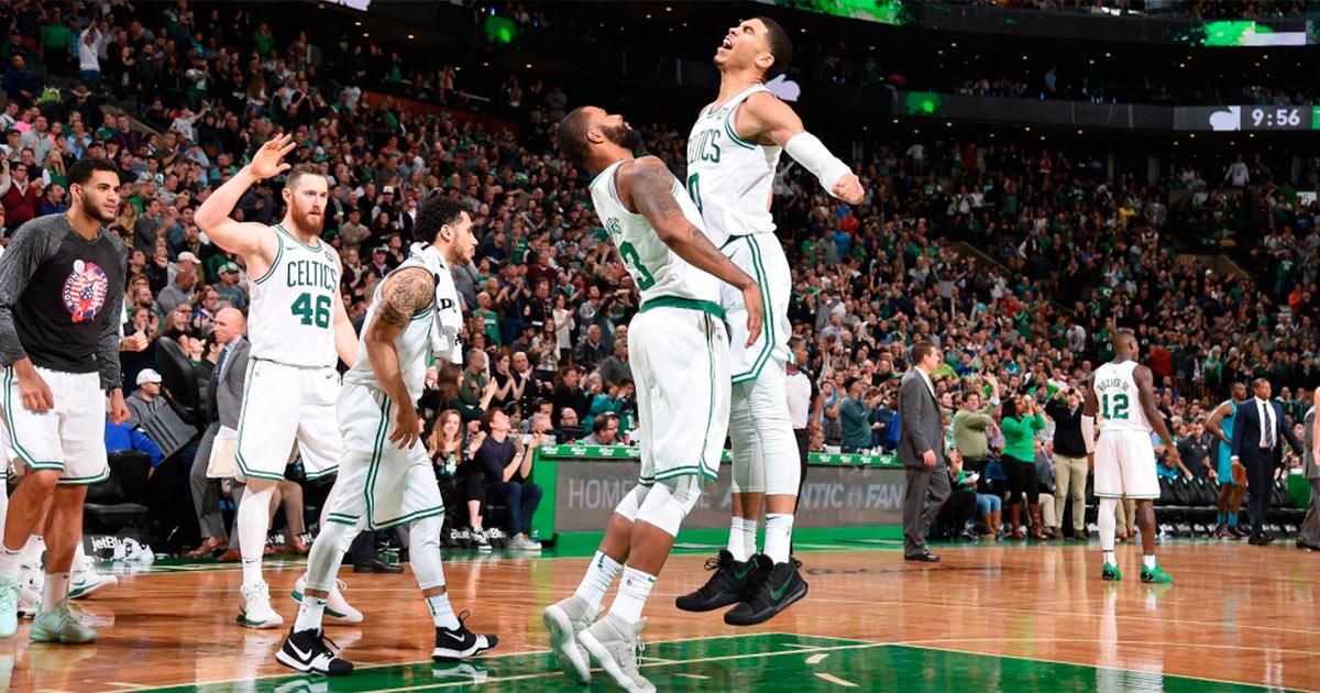 Los Boston Celtics Mandan Tras El Primer Cuarto De