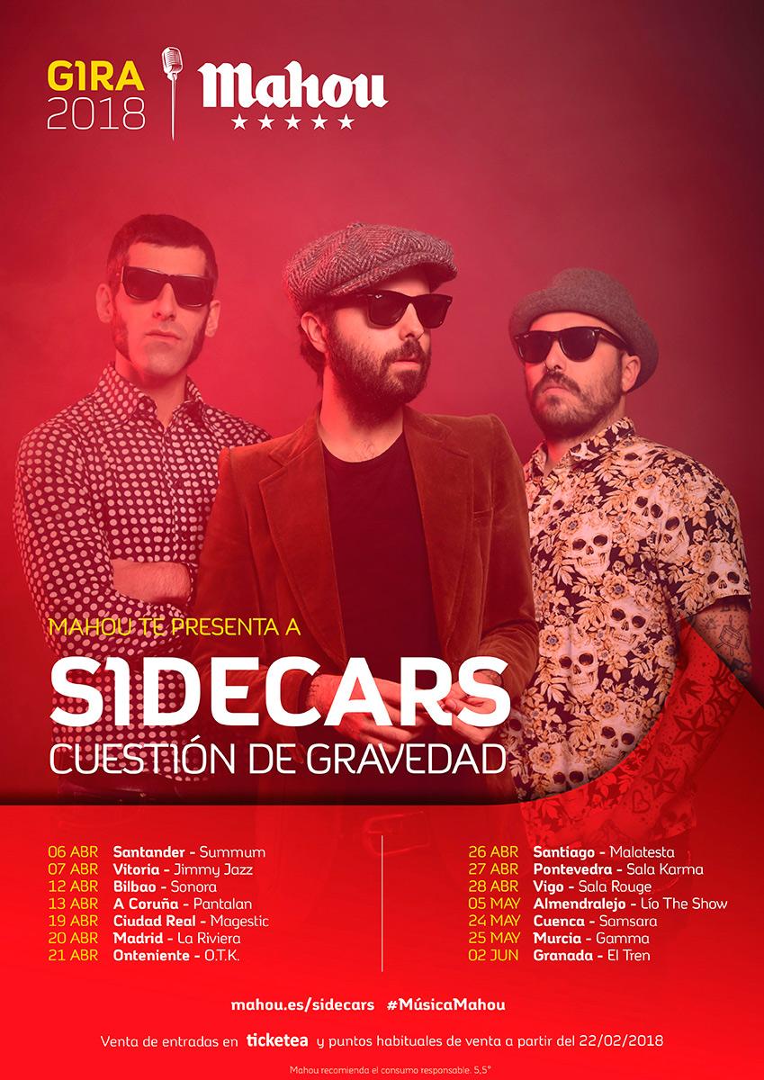 Sidecars hace 39 doblete 39 de conciertos en vigo metropolitano for Sala rouge vigo