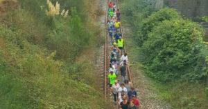 Convocan una marcha para reclamar una vía verde que una Vigo y Pontevedra