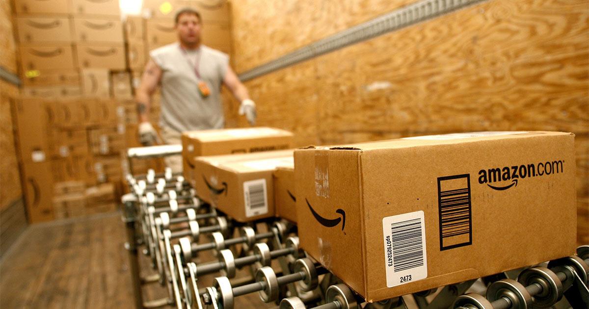 Imagen perteneciente a una nave de Amazon // FOTO: KEN JAMES
