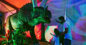 Dinoseto no está solo: el Ifevi se convertirá en un Parque Jurásico antes de Navidad