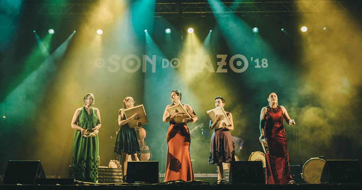 Imaxe da pasada edición de O Son do Pazo // FOTO: IÑAKI PRIETO