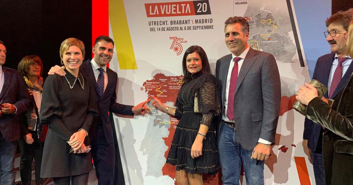 Foto de Archivo de la presentación del recorrido de La Vuelta