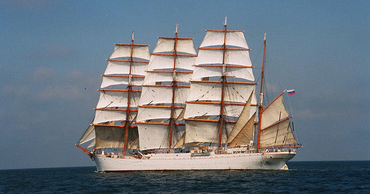 """El """"Sedov"""" se podrá visitar antes de Navidad en Vigo // FOTO: WIKIPEDIA"""