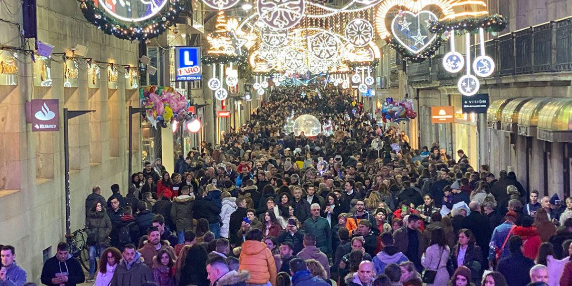 Denuncian que es ilegal que una empresa privada controle los aforos en la Navidad de Vigo