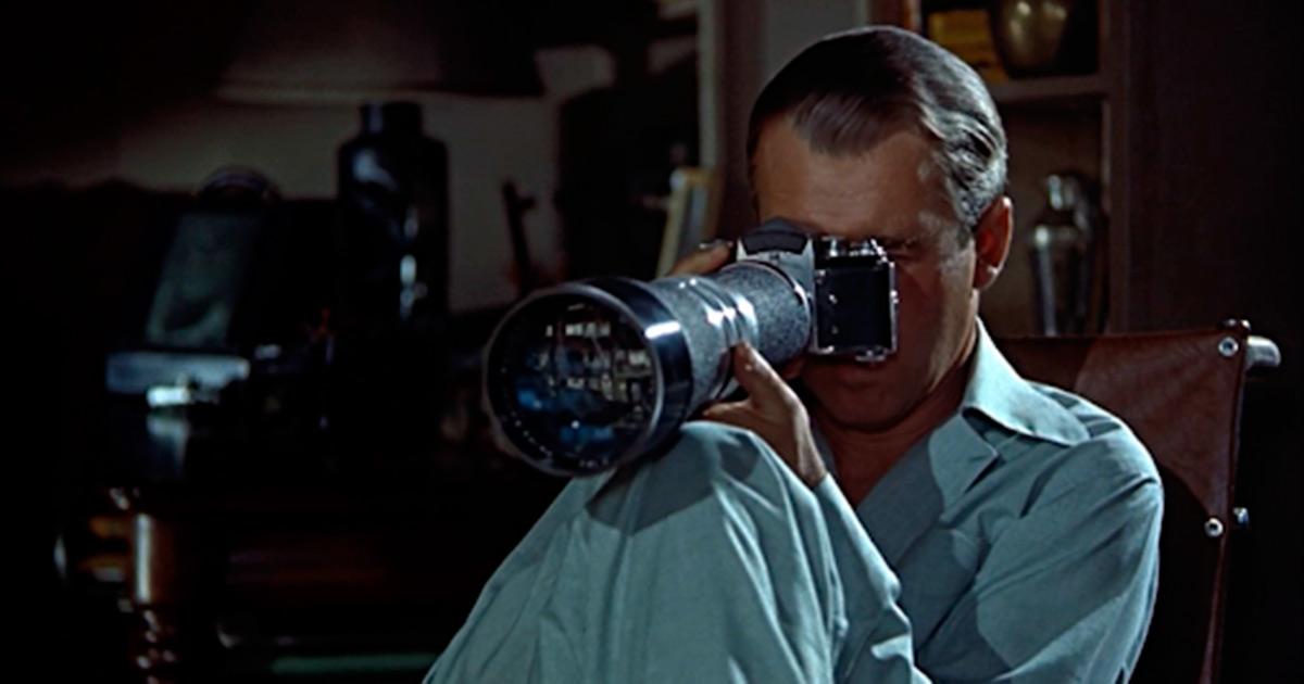 """Fotograma de la película """"La ventana indiscreta"""""""