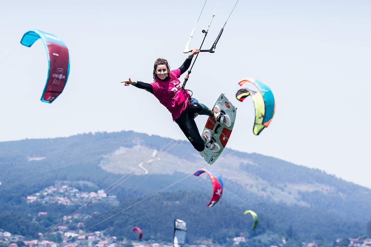 El KiteFest Cesantes pudo despedirse por todo lo alto // FOTO: María Muiña/SailingShots