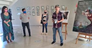 A Mostra de Teatro de Cangas estrease cunha compilación da obra da ilustradora Luz Beloso